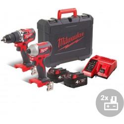 MILWAUKEE Aku kompaktní bezuhlíkový powerpack M18 CBLPP2A-402C, 18V