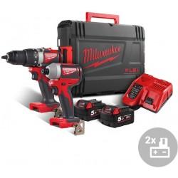 MILWAUKEE Aku bezuhlíkový powerpack M18 BLPP2B2-502X, 18V