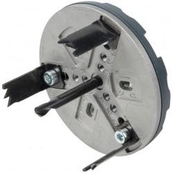 Wolfcraft Wolfcraft nastavitelná děrovka SANITA 35-83 mm 5984000