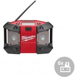 MILWAUKEE Aku rádio C12 JSR-0, s připojením na jednotku MP3