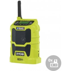RYOBI Aku rádio s bluetooth R18R-0, 18V