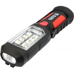 YATO Lampa montážní 8+1 LED, hák+magnet YT-08513