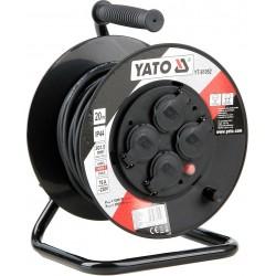 YATO Prodlužovák bubnový 4zásuvky IP44 16A 20 m YT-81052