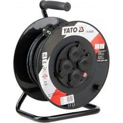 YATO Prodlužovák bubnový 4zásuvky IP44 16A 30 m YT-81053