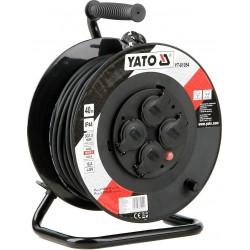 YATO Prodlužovák bubnový 4zásuvky IP44 16A 40 m YT-81054