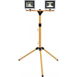 YATO Lampa COB LED na stojanu 2x 20W YT-81789