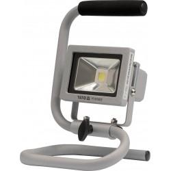 YATO Reflektor přenosný s vysoce svítivou COB LED, 10W, 700lm, IP65, 1,8m kabel YT-81802