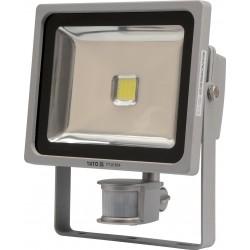 YATO Reflektor s vysoce svítivou COB LED, 30W, 2100lm, IP44, pohyb. senzor YT-81804