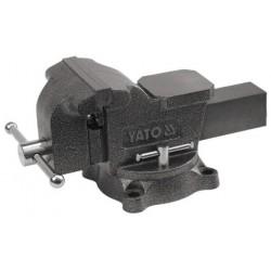 YATO Svěrák zámečnický otočný 100 mm 7 kg YT-6501