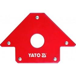 YATO Úhelník magnetický ke svařování 22,5 kg s otvorem YT-0864