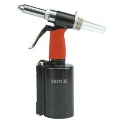 YATO Nýtovačka pneumatická2,4/3,2/4,0/4,8/6,4 YT-3618