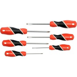 YATO Sada šroubováků 6ks, - 3-6mm, + PH0-PH2 YT-25965