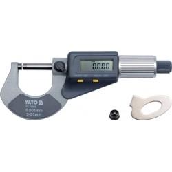 YATO Mikrometr digitální 0-25mm YT-72305