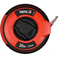 YATO Pásmo měřící ocelové 20m,13mm YT-71580