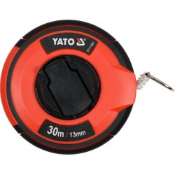 YATO Pásmo měřící ocelové 30m,13mm YT-71581