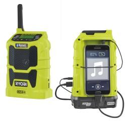 RYOBI ONE+ aku rádio R18R-0