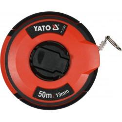 YATO Pásmo měřící ocelové 50m,13mm YT-71582