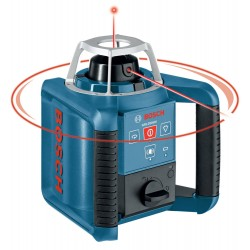 BOSCH Rotační laser GRL 300 HV Set (BT170HD+GR240+LR1+WM4+RC1)