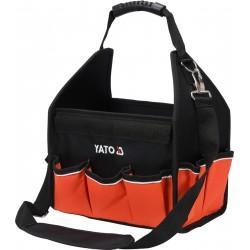 YATO Taška na nářadí 30x37x21 cm s nylonovou rukojetí YT-74370
