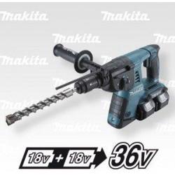 MAKITA DHR264PT4 Aku kladivo s výměnným sklíčidlem Li-ion 2x18V/5,0Ah
