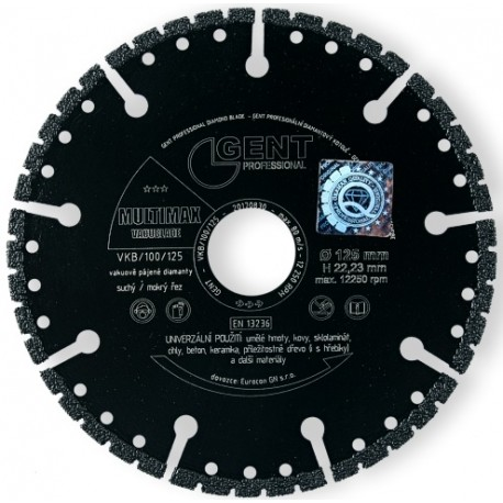 GENT Diamantový kotouč Vacublade Multimax 115mm