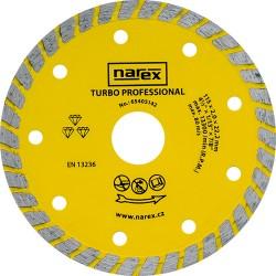 NAREX DIA 115 TP - Diamantový dělicí kotouč pro stavební materiály TURBO PROFESSIONAL