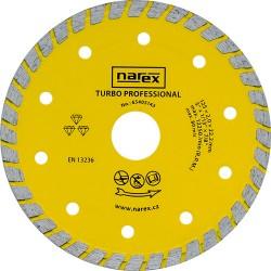 NAREX DIA 125 TP - Diamantový dělicí kotouč pro stavební materiály TURBO PROFESSIONAL