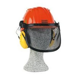 MAKITA helma, štít, sluchátka