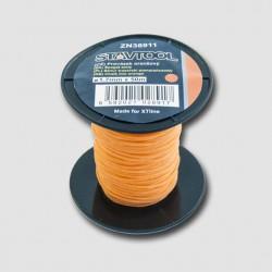 STAVTOOL Provázek 50 m, 2 mm, oranžový