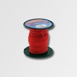 STAVTOOL Provázek 50 m, 1 mm, červený