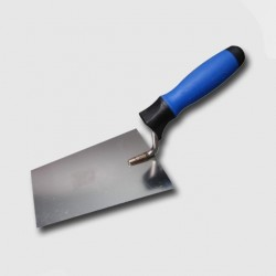 KUBALA Zednická nerez lžíce softgrip 160mm