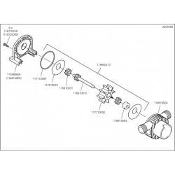 Wolfcraft Náhradní díl Hřídel rotoru 2200-07 pro Pumpa Wolfcraft 2200000