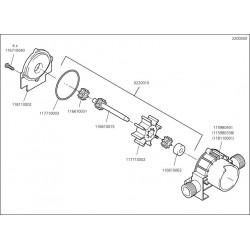 Wolfcraft Náhradní díl Držák šroubovací B3,9x13, DIN7981, 2200/01 pro Pumpa Wolfcraft 2200000