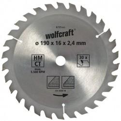 Wolfcraft Wolfcraft pilový kotouč hrubé řezy ø140x12,75 Z18 6731000