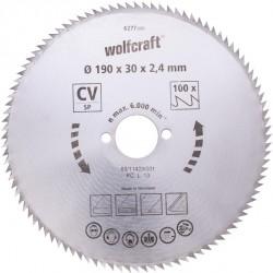 Wolfcraft Wolfcraft pilový kotouč jemné řezy ø127x12,75 Z80 6255000