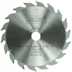 NAREX 160×2.2×20 18WZ - Standard