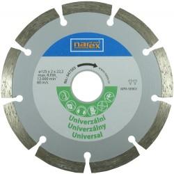 NAREX Dia 125 Universal - Diamantový řezný kotouč - universal sintrovaný