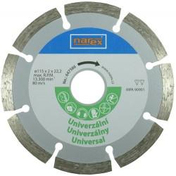 NAREX Dia 115 Universal - Diamantový řezný kotouč - universal sintrovaný