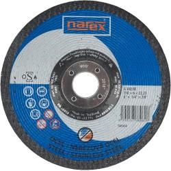 NAREX 150×6×22.2 A 30 BF - Brusný kotouč na ocel vypouklý