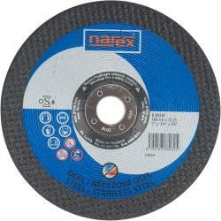 NAREX 180×6×22.2 A 30 BF - Brusný kotouč na ocel vypouklý
