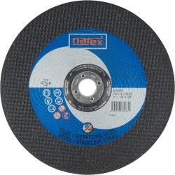 NAREX 230×6×22.2 A 30 BF - Brusný kotouč na ocel vypouklý