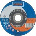 NAREX 125×1×22.2 A 60 BF INOX - Řezný kotouč na ocel rovný - NEREZ