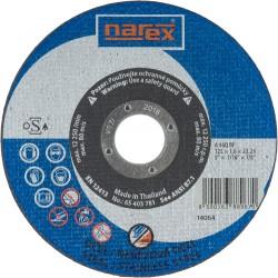 NAREX 125×1,6×22.2 A 46 BF - Řezný kotouč na ocel rovný