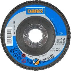 NAREX 27A 115×22.2 ZA 40-B - Lamelový kotouč