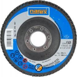 NAREX 27A 115×22.2 ZA 60-B - Lamelový kotouč