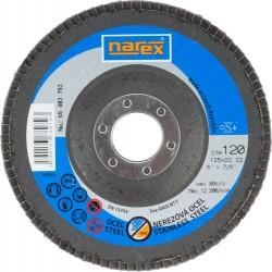 NAREX 27A 125×22.2 ZA 120-B - Lamelový kotouč